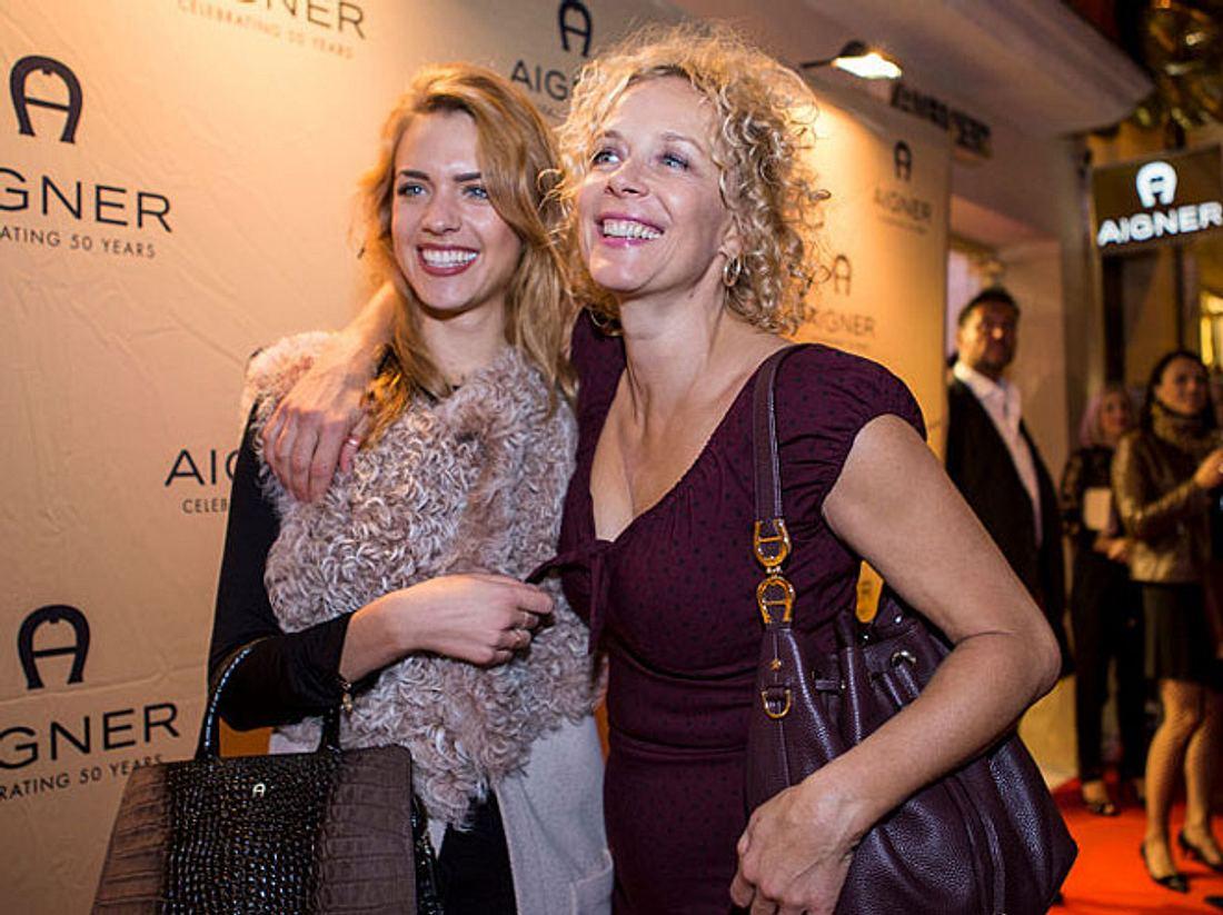 Katja und Paula Riemann sind aufeinander stolz
