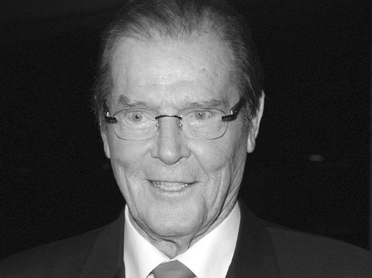 Roger Moore ist gestorben
