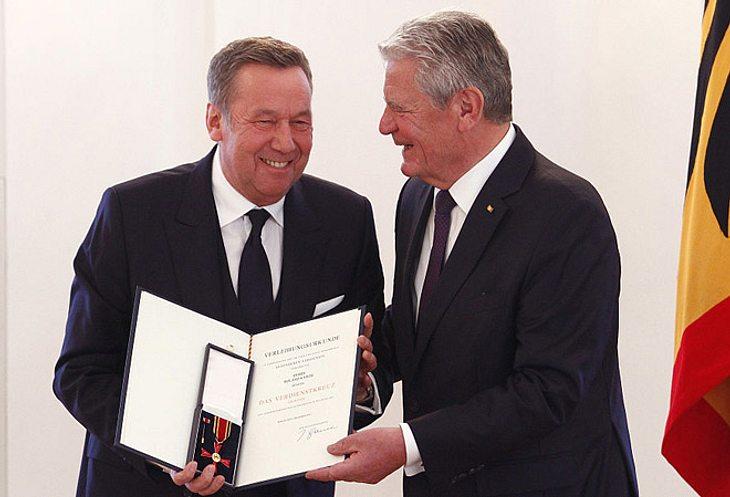 Roland Kaiser bekam 2016 das Bundesverdienstkreuz verliehen.