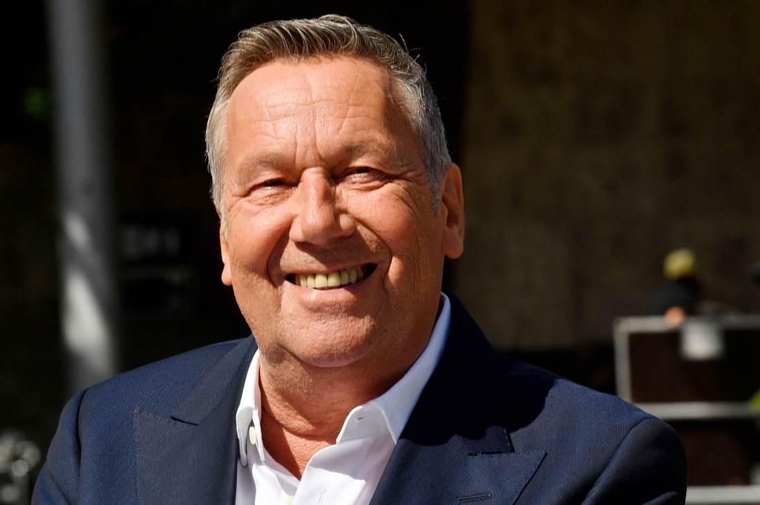 Schlagerstar Roland Kaiser.