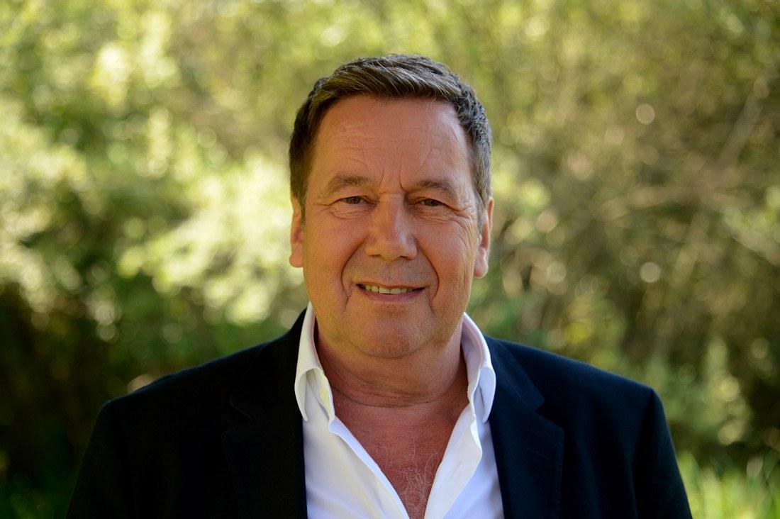 Sänger Roland Kaiser.