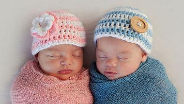 Romeo und Julia erblicken nur kurz nacheinander im selben Krankenhaus das Licht der Welt - Foto: katrinaelena / iStock