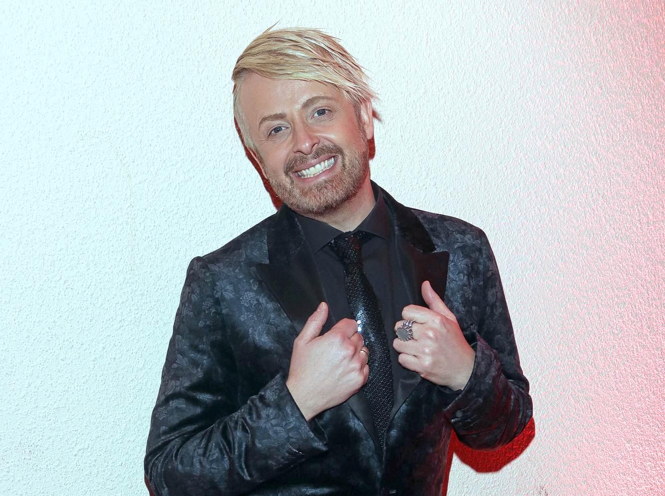 Sänger Ross Antony.