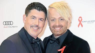 Die beiden Sänger Paul Reeves und Ross Antony sind seit fast zwanzig Jahren ein Paar. - Foto: Tristar Media/Getty Images