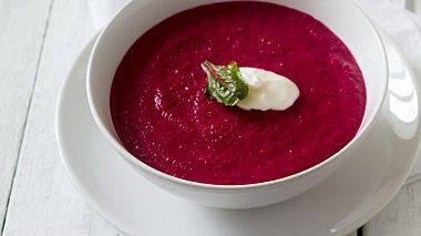 Rezept für Rote-Bete-Suppe