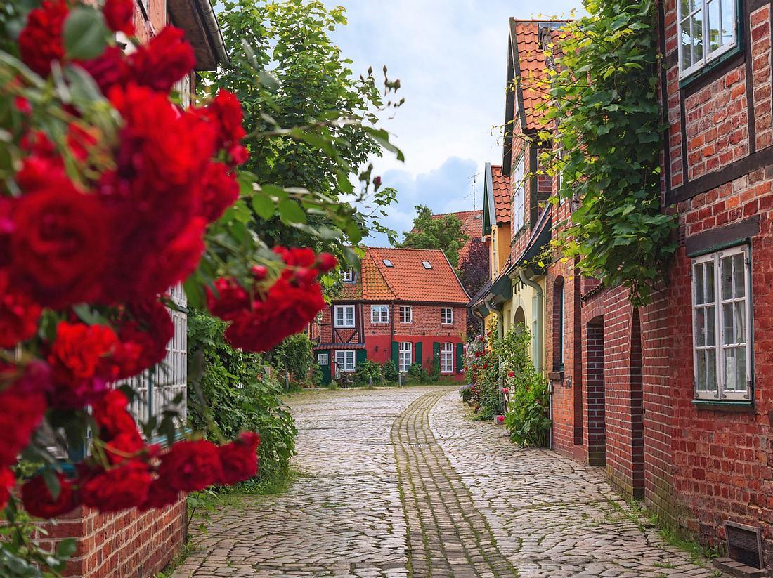 Rote-Rosen-Drehorte: Lüneburger Altstadt