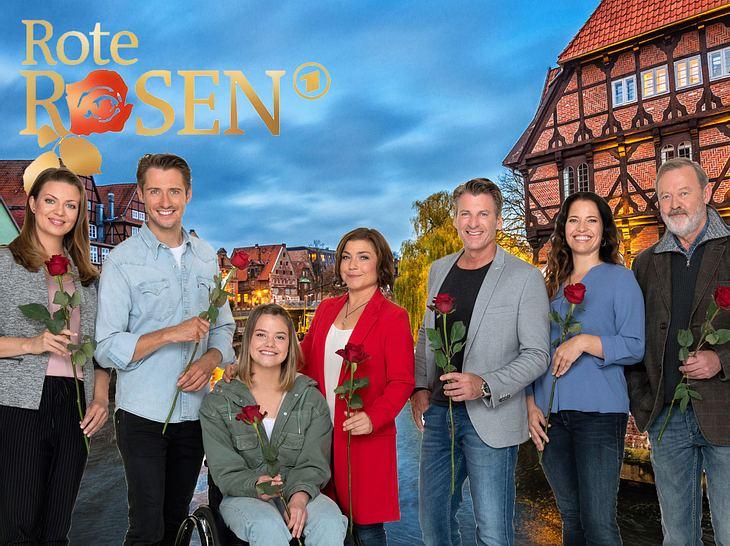 Hauptcast der 17. Staffel Rote Rosen.
