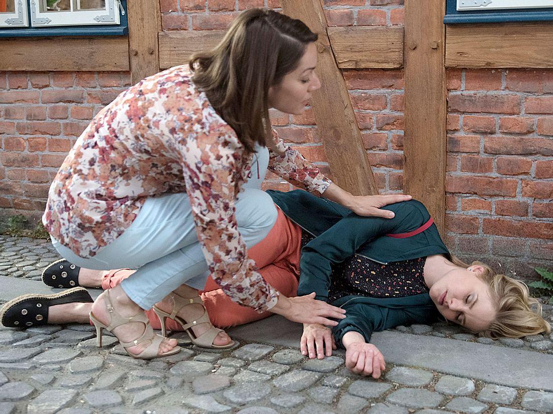 Rote Rosen: Drama um Jacquelines Schwangerschaft