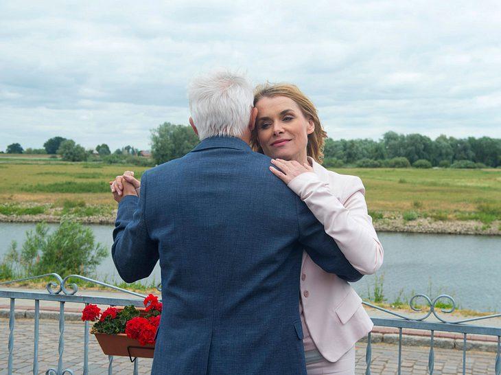 Kuss Eva und Thomas