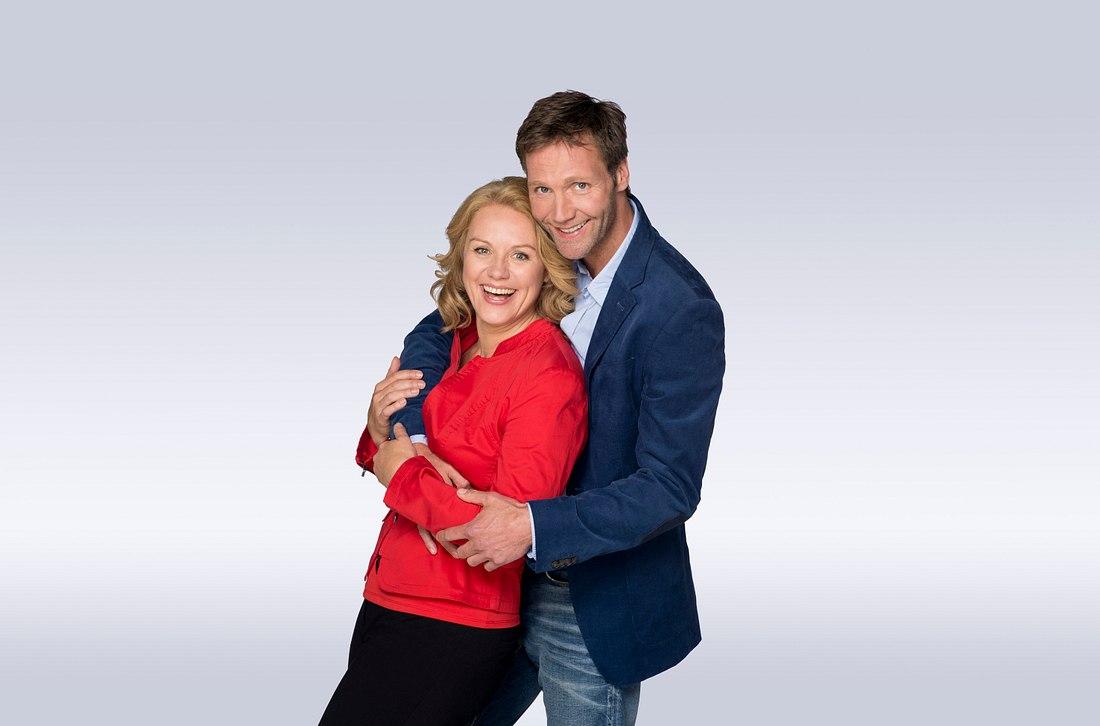 Traumpaar aus Rote-Rosen-Staffel: Tine Hedelund und Ole Wolff.
