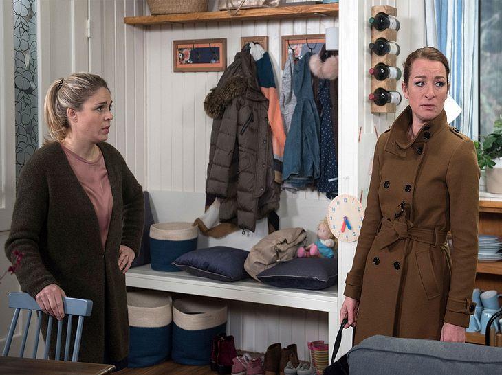 Carla ist fassungslos als sie merkt, dass Torben es mit der Weitervermietung ihrer Wohnung wirklich ernst meinte.