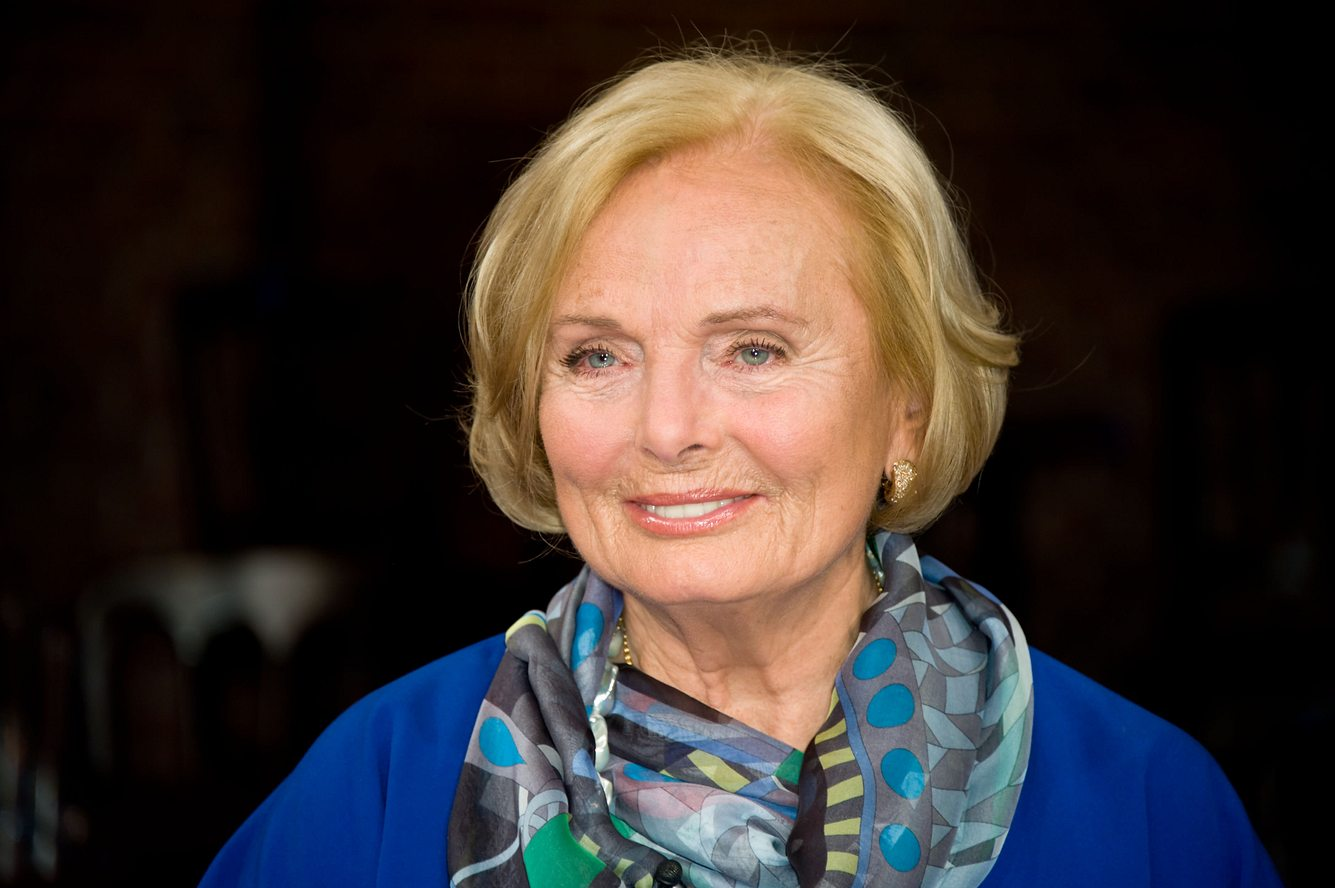 Schauspielerin Ruth Maria Kubitschek.