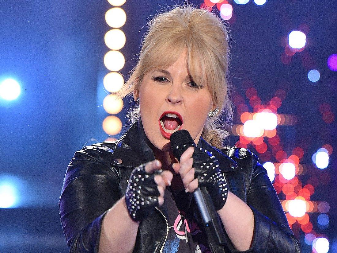 Sängerin Maite Kelly.