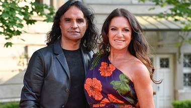 Schauspielerin Christine Neubauer und José Campos.  - Foto: Sven Simon / Imago