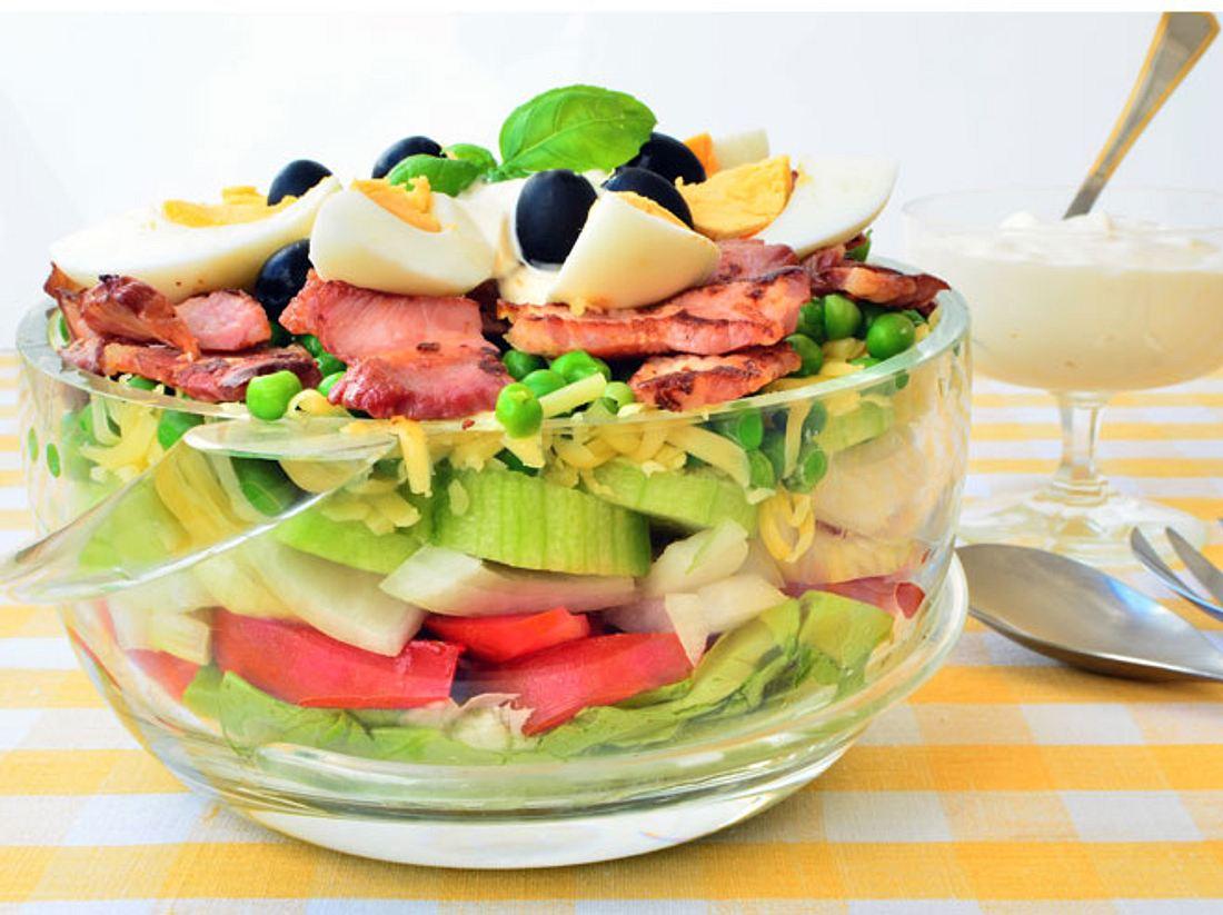 Schichtsalat: Der knackige Klassiker
