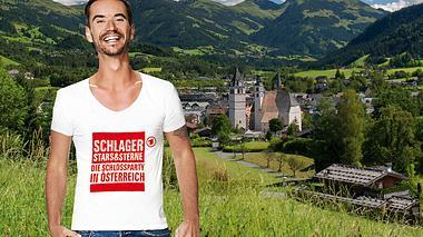 Florian Silbereisen moderiert Schlager, Stars & Sterne - Die Schlossparty in Österreich. - Foto: ARD/Jürgens TV/Beckmann/Montage: Vicky Rass