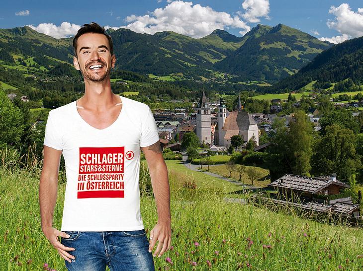 Florian Silbereisen moderiert Schlager, Stars & Sterne - Die Schlossparty in Österreich.