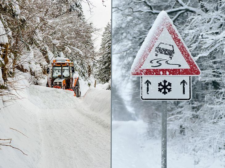 Urlaub stornieren bei Schnee-Chaos?