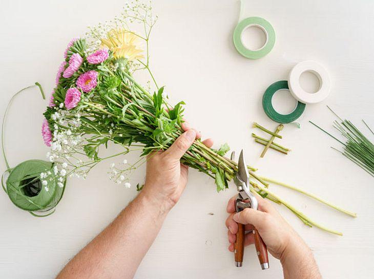 So halten Schnittblumen länger