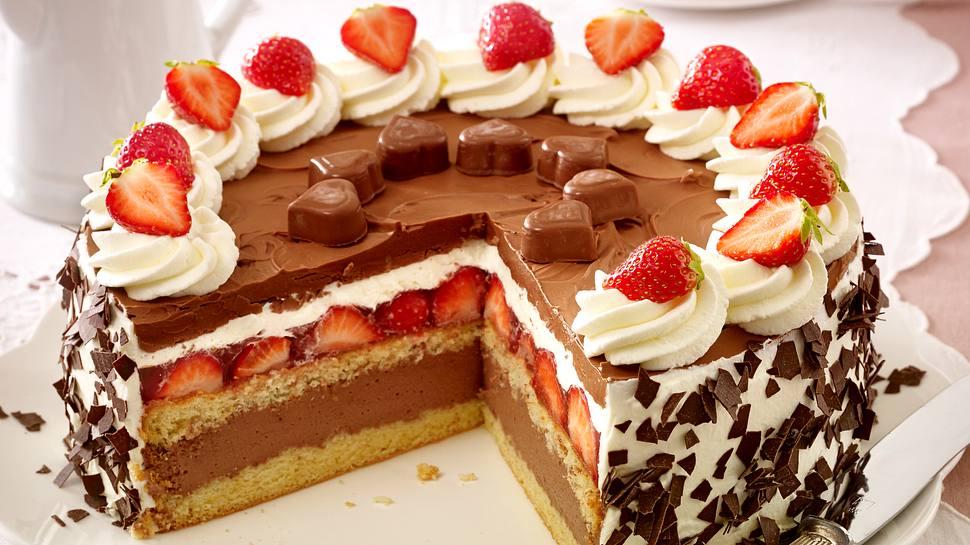 Schoko-Erdbeer-Torte. - Foto: House of Food