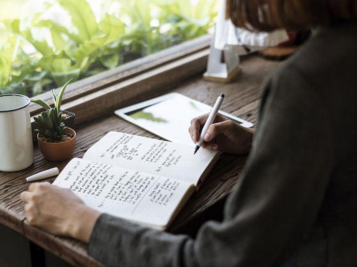 Schreiben Sie sich den Stress von der Seele