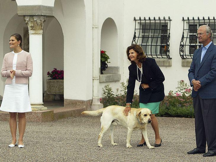 König Carl Gustaf und Bingo