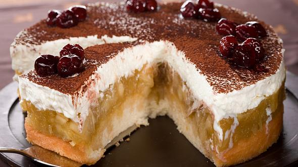 Schwedischer Apfelkuchen: Das Rezept mit und ohne backen