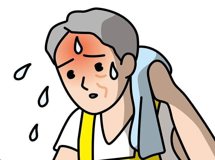 Starkes Schwitzen am Kopf ist vielen Betroffenen unangenehm.