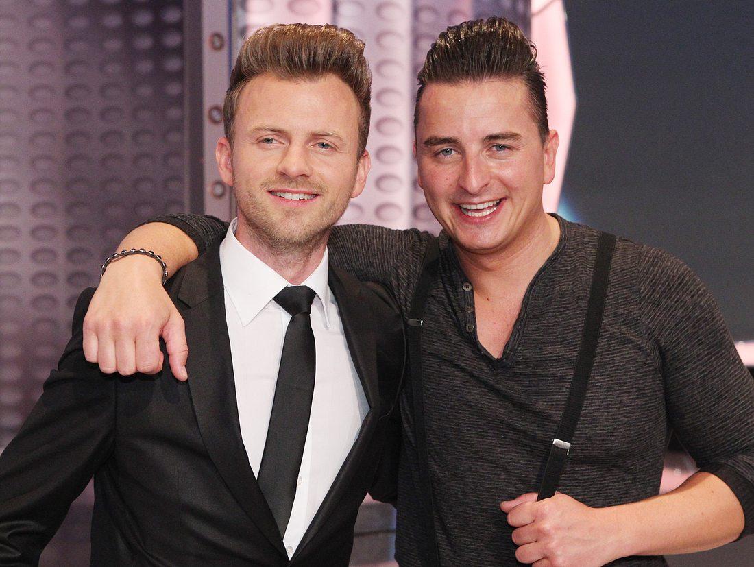 Willi Gabalier und sein jüngerer Bruder Andreas Gabalier.
