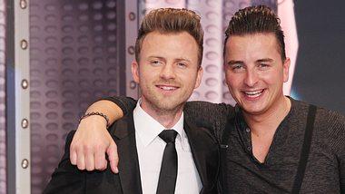 Willi Gabalier und sein jüngerer Bruder Andreas Gabalier. - Foto: Sebastian Willnow/Getty Images