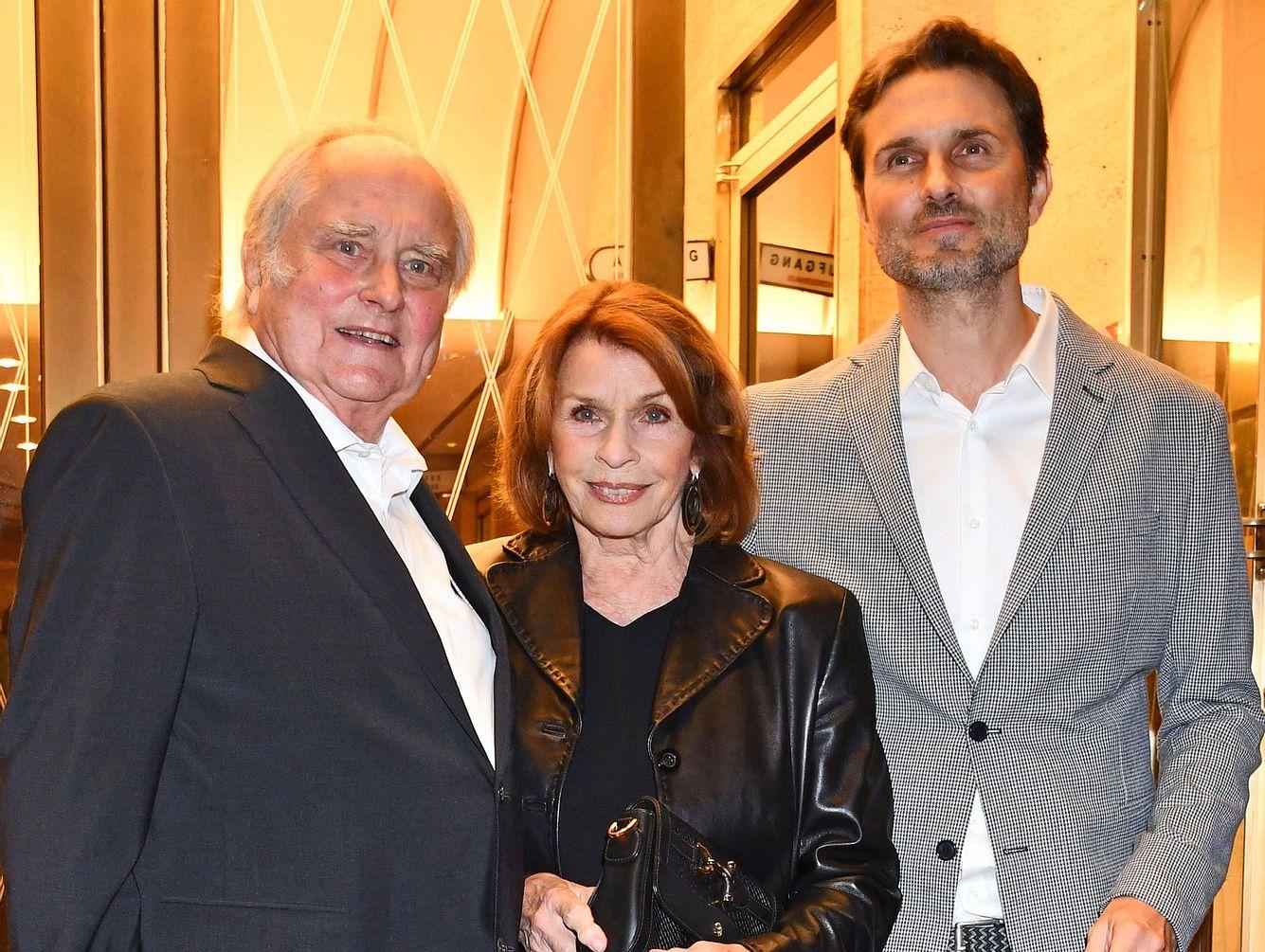 Senta Berger mit Mann Michael und Sohn Simon Verhoeven.