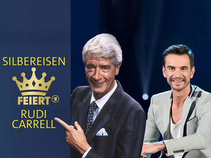 Florian Silbereisen feiert Rudi Carrell und erinnert an dessen Erfolge.