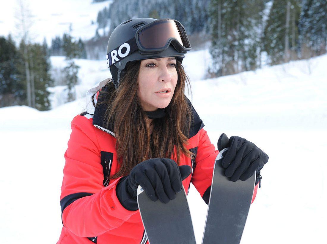 Simone Thomalla als Katja Baumann im Frühling-Weihnachtsspezial.