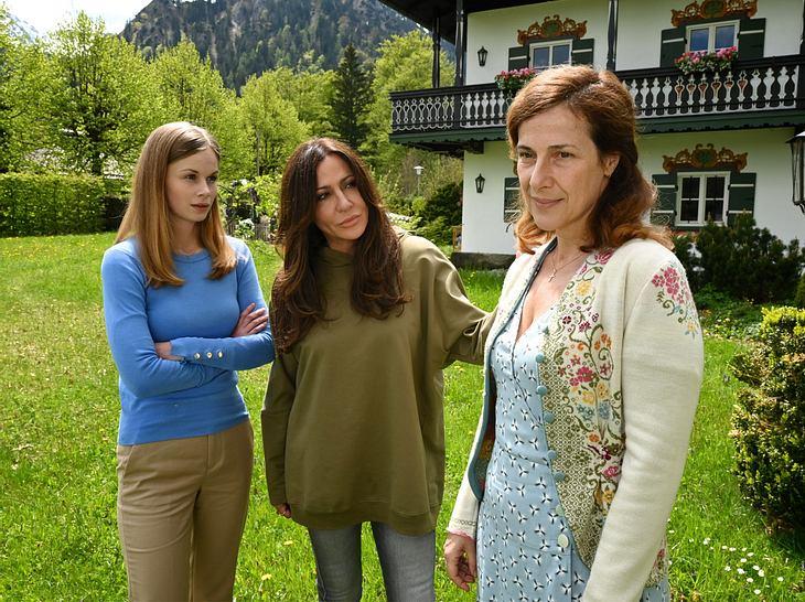 Simone Thomalla als Katja Baumann in einem weiteren Teil 'Frühling'.