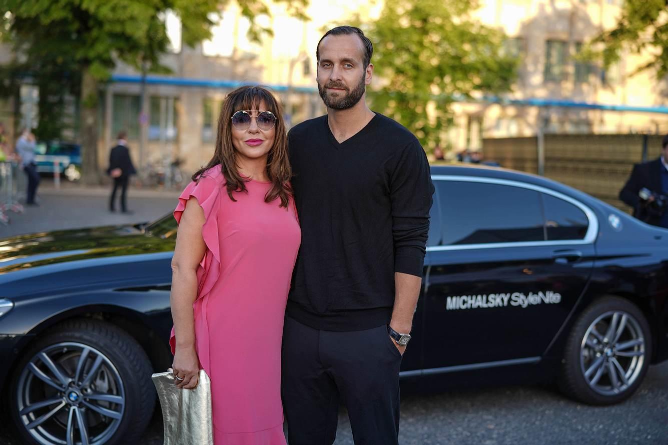 Simone Thomalla mit Ex-Freund Silvio Heinevetter bei der StyleNite 2018.