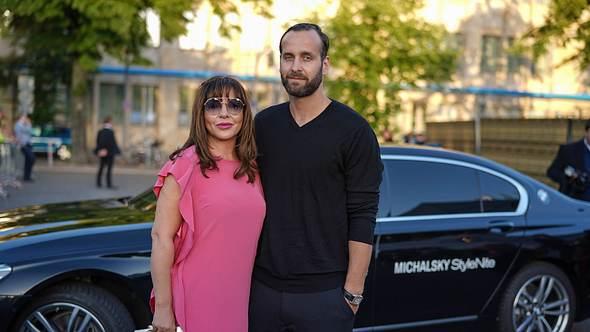 Simone Thomalla mit Ex-Freund Silvio Heinevetter bei der StyleNite 2018. - Foto: IMAGO / Eventpress