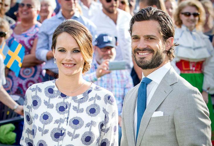 Sofia und Carl Philip sind bereits zum zweiten Mal Eltern geworden.