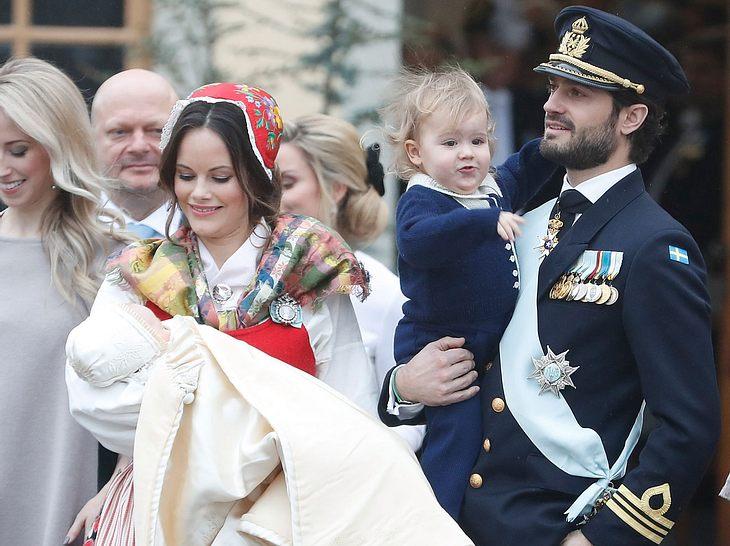 Sofia von Schweden: Sohn Gabriel getauft