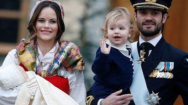 Sofia und Carl Philip von Schweden bei der Taufe - Foto: Michael Campanella/Wire Image/Getty Images