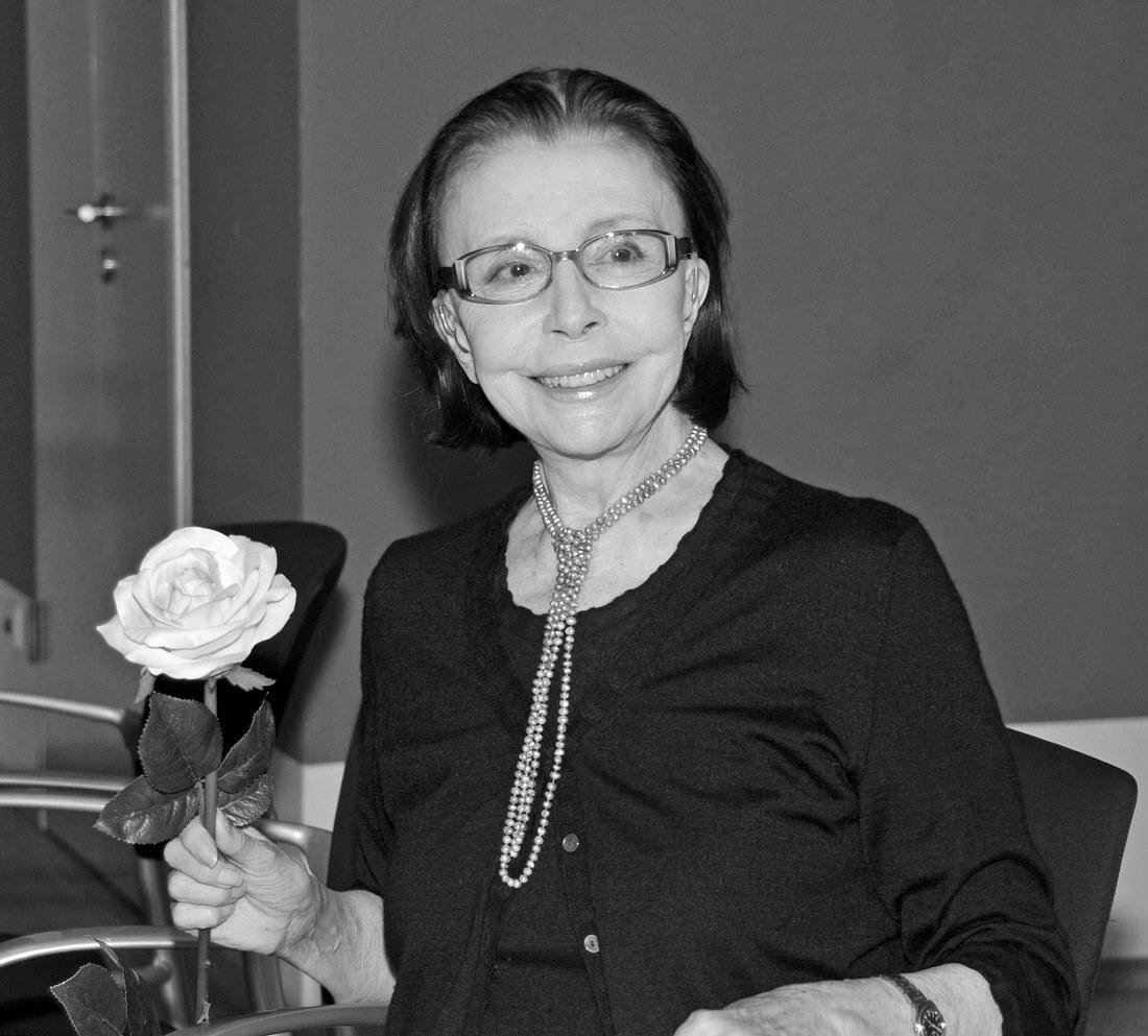 Schauspielerin Sonja Ziemann an ihrem 70. Geburtstag in München.
