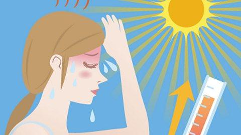 Sonnenstich sofort erkennen und behandeln