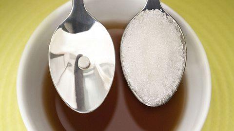 Bauchschmerzen durch Zuckeraustauschstoff