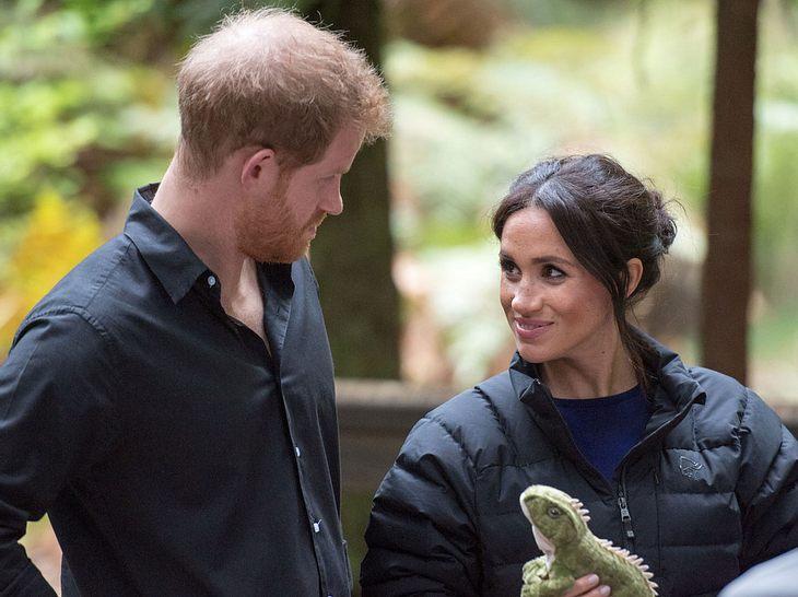 Die Spitznamen von Prinz Harry und Herzogin Meghan