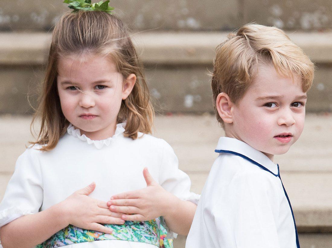 Der Spitzname von Prinz George
