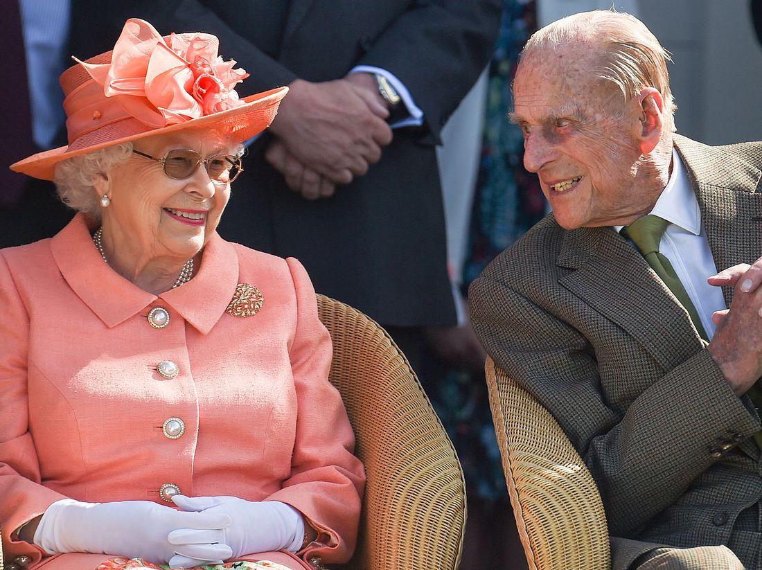 Die Spitznamen von Queen Elizabeth und Prinz Philip