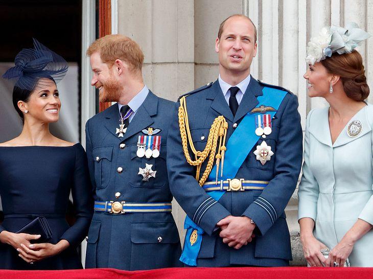 Die Spitznamen und Kosenamen der britischen Royals