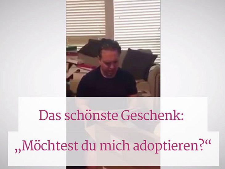 Das schönste Weihnachtsgeschenk der Welt: Adoptionspapiere