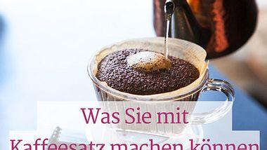Wofür ist Kaffeesatz gut?