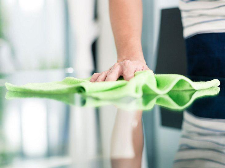 Staub vermeiden: Tipps für eine saubere Wohnung