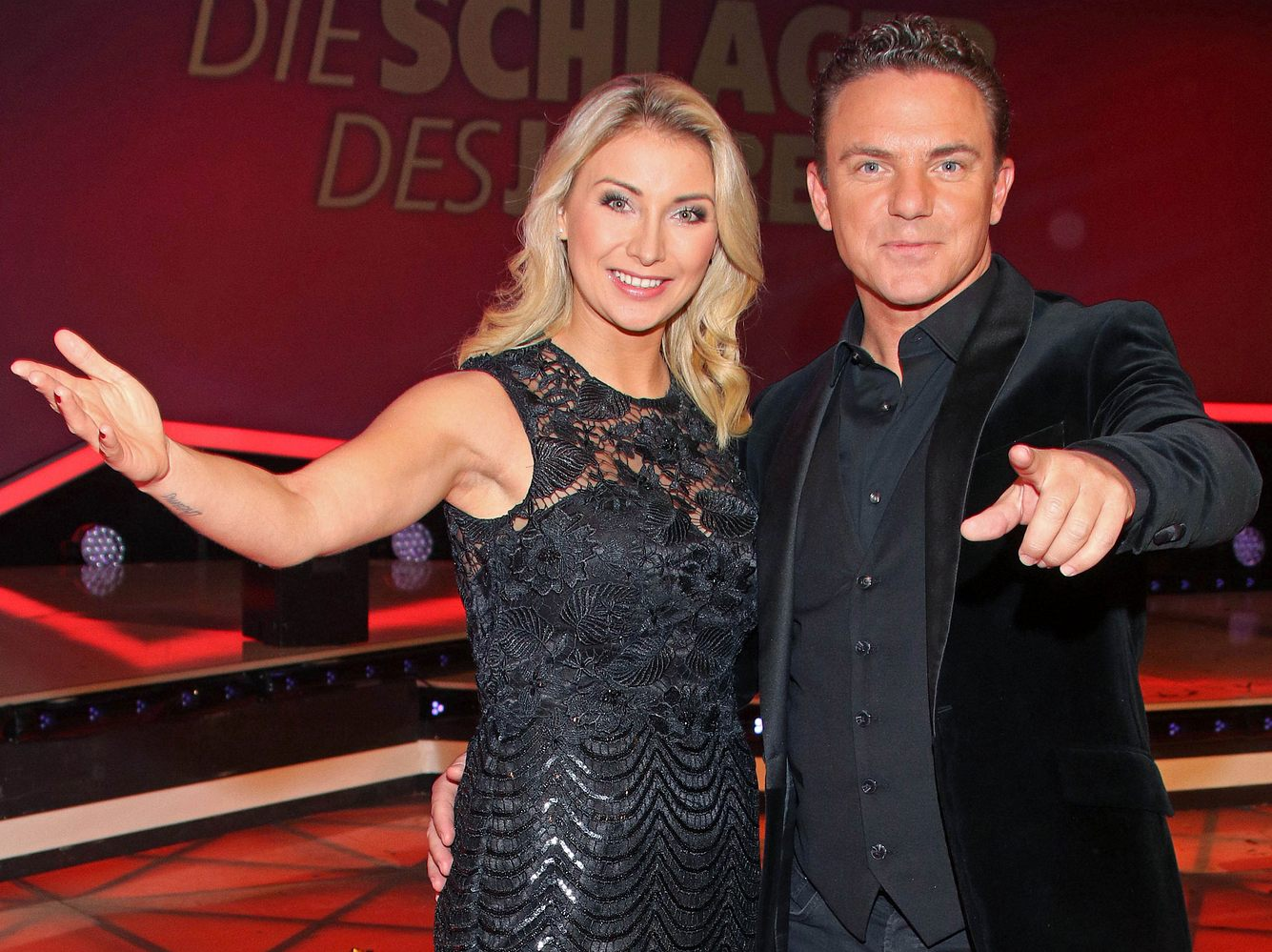 Anna-Carina und Stefan Mross.